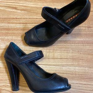 PRADA Women's Heels Euro Size 38.5